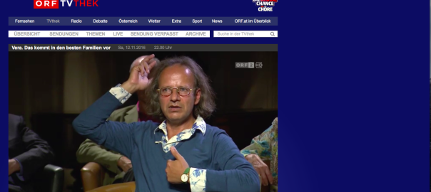 Michael Rajiv Shah im Interview bei Vera Russwurm ORF